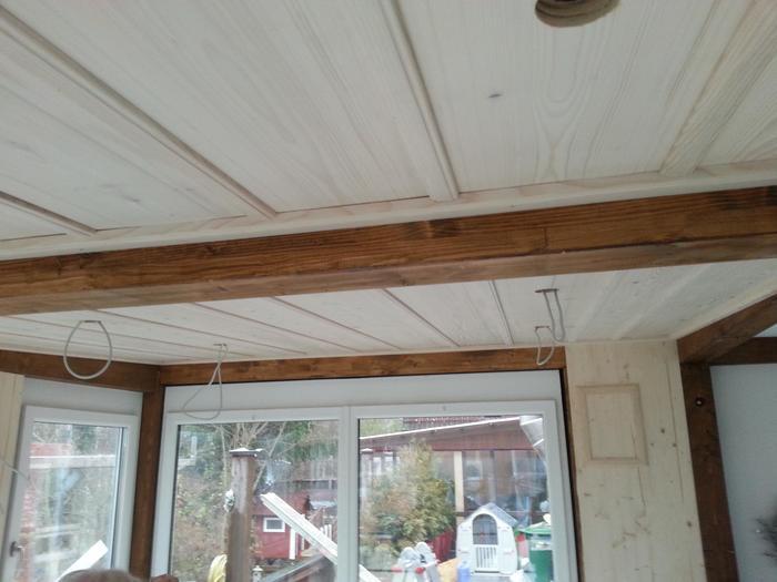 Holzdecke final ohne lampen