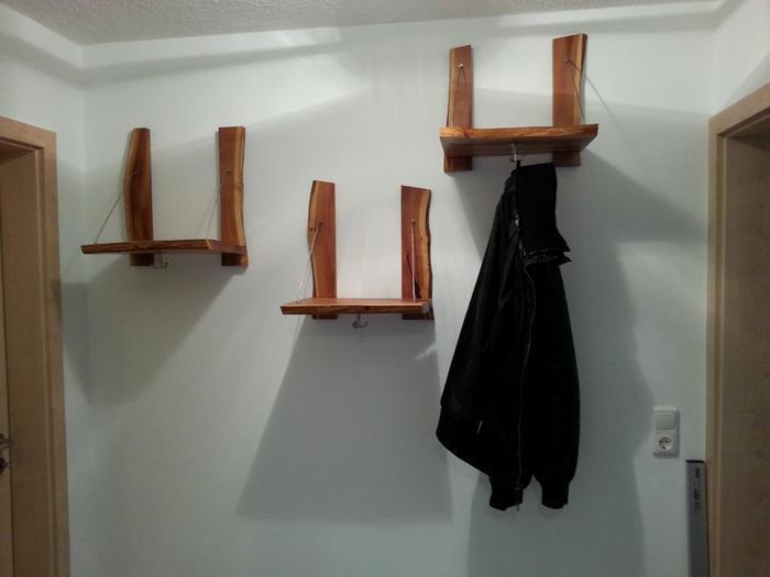 Garderobe hängende bretter