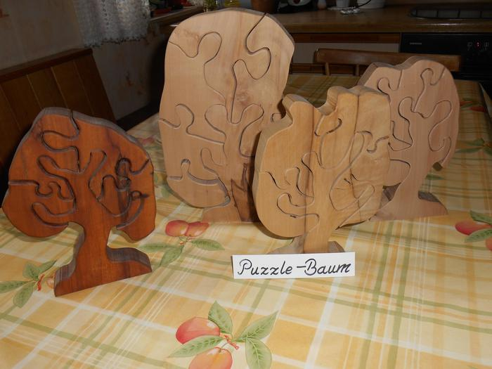 Dekoration puzzlebäume